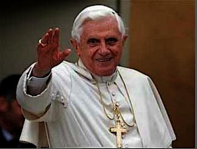Pope Waving