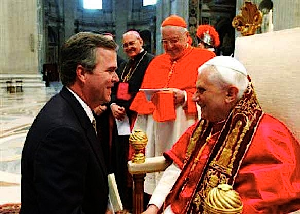 Jeb Bush and Pope