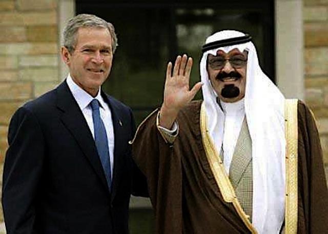 Bush Saudi