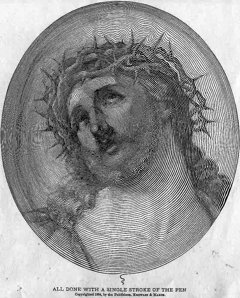 Jesus line art