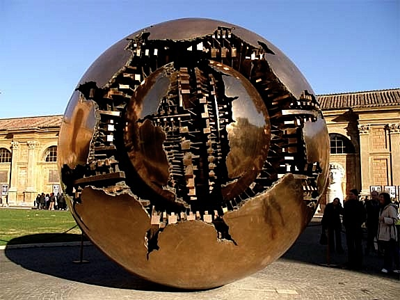 Crashed Globe
