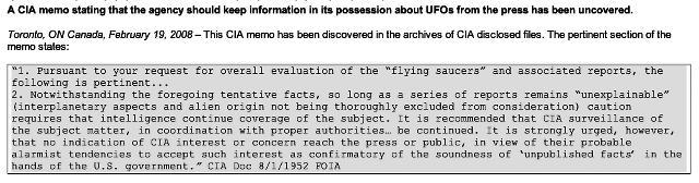 UFO quote